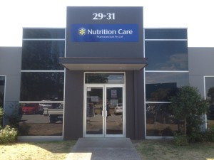 nutrition care phamaceuticals sign