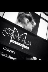 Tamarua beauty academy branded director chairs