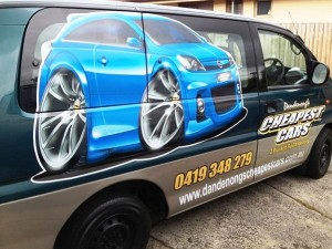Vehicle Signage Dandenong Cheapest Cars