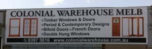 Factory Signage - Williamstown - Colonial Warehouse