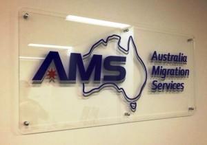 Reception Sign - - Melbourne - AMS