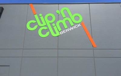 Clip n' Climb, C&C Routed Letters, Berwick