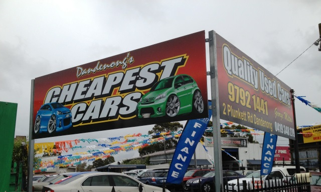 Cheapest Cars, Digitally printed body wrap, Dandenong